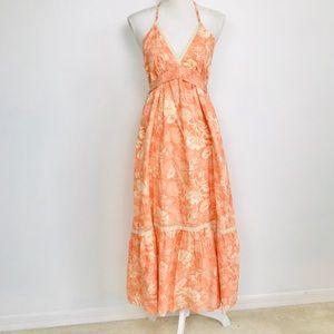 Anthropology Odille  Halter Summer Dress